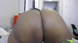 Afro BBW goddess Lindy Bi with huge booty and monster tits
