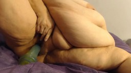 Phat flirty BBW J with huge breasts and big areolas