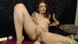 JOI CEI foxy MILF Olivia Rose with an awesome inked body
