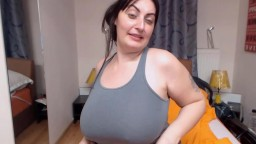 Rarely bored European chunky Anykka with big breasts