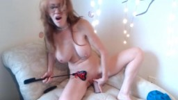Redheaded sensual wet queen ready to make you cum
