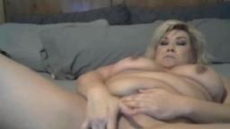 Slutty blonde housewife Raegan Grey with meaty vagina