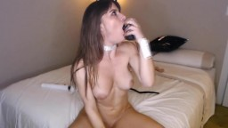 Amazing hot goddess Jolie Rizz with squirting pussy