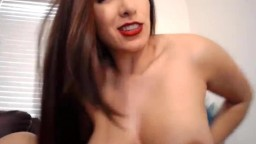 Deepthroat 10in magnificent Silvana with massive B boobs
