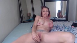 MILF brunette Kay with small tits ready to fuck and cum for you