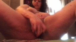 Dirty talking housewife with squirting cunt just for you