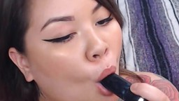 Sub curvy Asian whore Angelica Dynamite getting you off