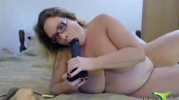 Black cock addicted cougar Penny Laperv with a hairy vagina