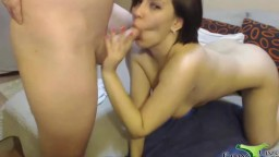 Lustful beauty Jo gets hardcore fucked and creampied