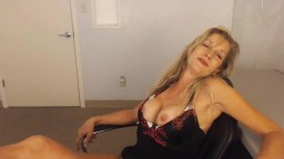 Drunk wife next door Bridget with nice huge boobs wants it