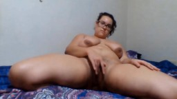 Curvy Miss Scarlet with huge boobs banged a hairy pussy