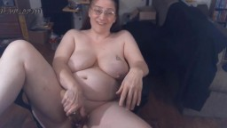 Redhead rounded mature plumper Kalista with huge boobs