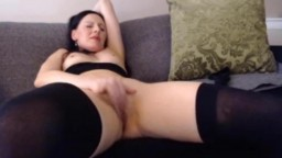 Irresistible raven Devon Taylor knows art of seduce and gratify