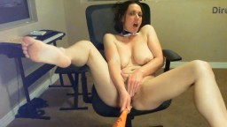 Inventive Amoureuse does extreme sex with a baseball bat