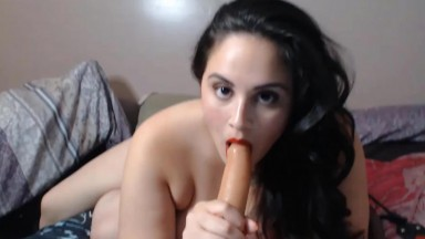 The ultimate latin BBW Jmontero does a sloppy head