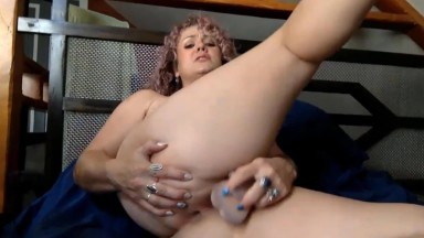 Loud moaning cute MILF Carina Marie craves to be filled up
