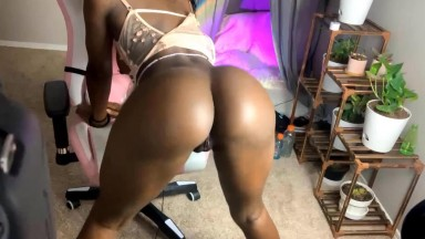 Babe to prepare men to be hooked to only superior ebony fetish