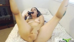 Loud screaming gal Frankie with pierced boobs and no limits